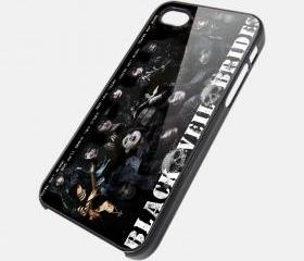 BLACK VEIL BRIDES 2 - iPhone 4 Case, iPhone 4s Case and iPhone 5 case Hard Plastic Case SWX