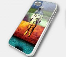 FLY ASTRONOUT - iPhone 4 Case, iPhone 4s Case and iPhone 5 case Hard Plastic Case SWX