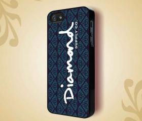 DIAMOND SUPPLY LOGO - iPhone 4 Case, iPhone 4s Case and iPhone 5 case Hard Plastic Case HNF