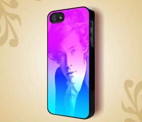 HARY STYLES COOL STYLE RAINBOW - iPhone 4 Case, iPhone 4s Case and iPhone 5 case Hard Plastic Case HNF