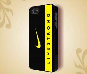 LIVESTRONG NIKE SPORT BIKE - iPhone 4 Case, iPhone 4s Case and iPhone 5 case Hard Plastic Case HNF