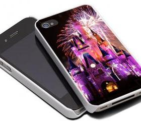 DISNEY CASTLE FIREWORKS - iPhone 4 Case, iPhone 4s Case and iPhone 5 case Hard Plastic Case MSH