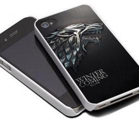 HOUSE STARK WOLF 2 - iPhone 4 Case, iPhone 4s Case and iPhone 5 case Hard Plastic Case MSH