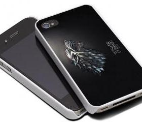 HOUSE STARK WOLF - iPhone 4 Case, iPhone 4s Case and iPhone 5 case Hard Plastic Case MSH