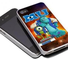 MONSTER INC UNIVERSITY 2 - iPhone 4 Case, iPhone 4s Case and iPhone 5 case Hard Plastic Case MSH