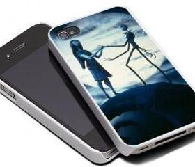NIGHTMARE BEFORE CHRISTMAS - iPhone 4 Case, iPhone 4s Case and iPhone 5 case Hard Plastic Case MSH