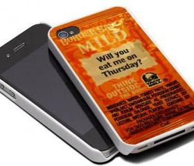 TACO BELL SAUCE FIRE 3 - iPhone 4 Case, iPhone 4s Case and iPhone 5 case Hard Plastic Case MSH