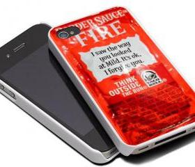 TACO BELL SAUCE FIRE - iPhone 4 Case, iPhone 4s Case and iPhone 5 case Hard Plastic Case MSH