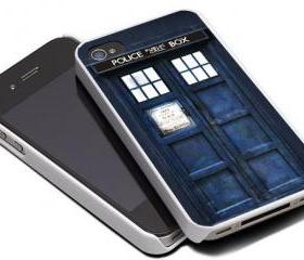 TARDIS DOCTOR WHO - iPhone 4 Case, iPhone 4s Case and iPhone 5 case Hard Plastic Case MSH