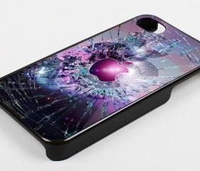 APPLE CRACKED OUT NEBULA - iPhone 4 Case, iPhone 4s Case and iPhone 5 case Hard Plastic Case KK