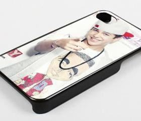 AUSTIN MAHONE SNAPBACK - iPhone 4 Case, iPhone 4s Case and iPhone 5 case Hard Plastic Case KK