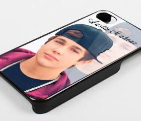 AUSTIN MAHONE SNAPBACK 2 - iPhone 4 Case, iPhone 4s Case and iPhone 5 case Hard Plastic Case KK