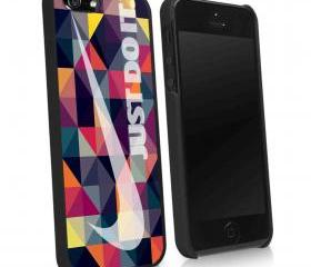 AZTEC TRIANGLE NIKE RAINBOW - iPhone 4 Case, iPhone 4s Case and iPhone 5 case Hard Plastic Case KK