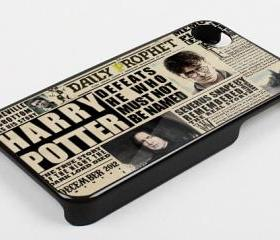 DECEMBER 2012 HARRY POTTER DAILY PROPHET - iPhone 4 Case, iPhone 4s Case and iPhone 5 case Hard Plastic Case KK