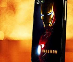 IRONMAN SKIN - iPhone 4 Case, iPhone 4s Case and iPhone 5 case Hard Plastic Case LZN