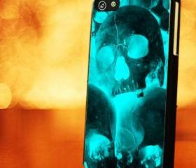 SKULLHONG TIFFANY - iPhone 4 Case, iPhone 4s Case and iPhone 5 case Hard Plastic Case LZN