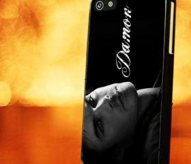 VAMPIRE DIARIES DAMON - iPhone 4 Case, iPhone 4s Case and iPhone 5 case Hard Plastic Case LZN