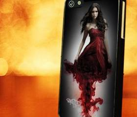 VAMPIRE DIARIES SKIN BLOOD - iPhone 4 Case, iPhone 4s Case and iPhone 5 case Hard Plastic Case LZN