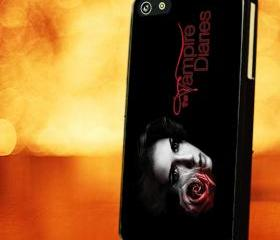 VAMPIRE DIARIES SKIN DIARIES- iPhone 4 Case, iPhone 4s Case and iPhone 5 case Hard Plastic Case LZN
