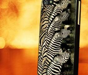 ZEBRA PATTERN SKIN - iPhone 4 Case, iPhone 4s Case and iPhone 5 case Hard Plastic Case LZN