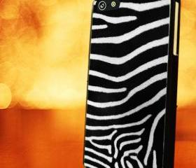 ZEBRA PATTERN - iPhone 4 Case, iPhone 4s Case and iPhone 5 case Hard Plastic Case LZN
