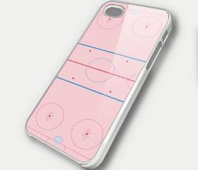 ICE HOCKEY RING - iPhone 4 Case, iPhone 4s Case and iPhone 5 case Hard Plastic Case SWX