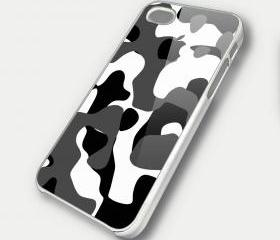 WHITE CAMOUFLAGE KOI FISH - iPhone 4 Case, iPhone 4s Case and iPhone 5 case Hard Plastic Case SWX
