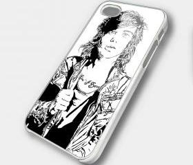 KELLIN QUINN - iPhone 4 Case, iPhone 4s Case and iPhone 5 case Hard Plastic Case SWX