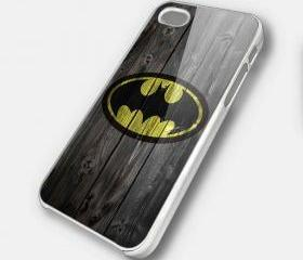 LOGO BATMAN - iPhone 4 Case, iPhone 4s Case and iPhone 5 case Hard Plastic Case SWX