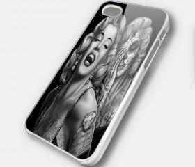 MARILYN MONROE - iPhone 4 Case, iPhone 4s Case and iPhone 5 case Hard Plastic Case SWX