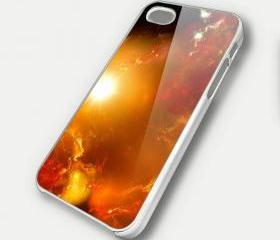 NEBULA SUN - iPhone 4 Case, iPhone 4s Case and iPhone 5 case Hard Plastic Case SWX