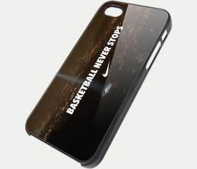 NIKE BASKETBALL DOWNTOWN - iPhone 4 Case, iPhone 4s Case and iPhone 5 case Hard Plastic Case SWX