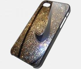NIKE GLITER - iPhone 4 Case, iPhone 4s Case and iPhone 5 case Hard Plastic Case SWX