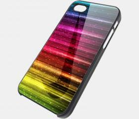 NIKE RAINBOW SPARKLE - iPhone 4 Case, iPhone 4s Case and iPhone 5 case Hard Plastic Case SWX