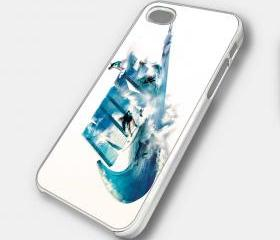 NIKE SURF WAVE - iPhone 4 Case, iPhone 4s Case and iPhone 5 case Hard Plastic Case SWX