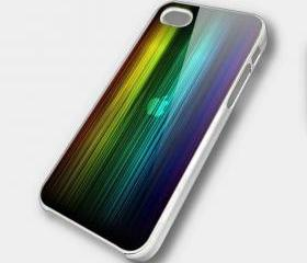 RAINBOW APPLE - iPhone 4 Case, iPhone 4s Case and iPhone 5 case Hard Plastic Case SWX