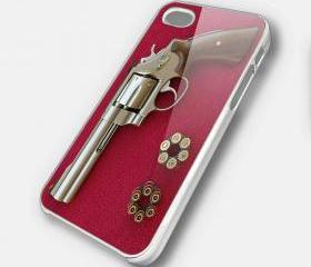 REVOLVER 1 - iPhone 4 Case, iPhone 4s Case and iPhone 5 case Hard Plastic Case SWX