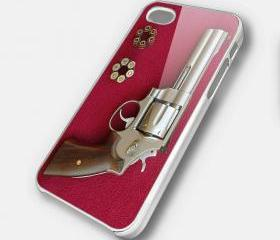 REVOLVER 2 - iPhone 4 Case, iPhone 4s Case and iPhone 5 case Hard Plastic Case SWX