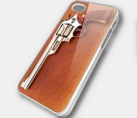 REVOLVER 4 - iPhone 4 Case, iPhone 4s Case and iPhone 5 case Hard Plastic Case SWX