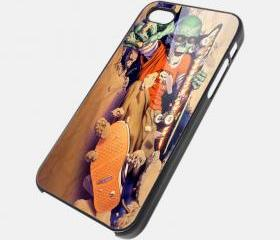 SKATEBOARD ZOMBIE - iPhone 4 Case, iPhone 4s Case and iPhone 5 case Hard Plastic Case SWX