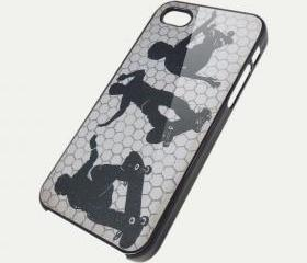 SKATERBOY - iPhone 4 Case, iPhone 4s Case and iPhone 5 case Hard Plastic Case SWX