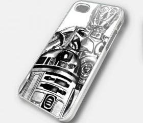SKETS R2D2 - iPhone 4 Case, iPhone 4s Case and iPhone 5 case Hard Plastic Case SWX