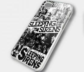 SLEEPING WITH SIRENS - iPhone 4 Case, iPhone 4s Case and iPhone 5 case Hard Plastic Case SWX