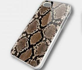 SNAKE SKIN - iPhone 4 Case, iPhone 4s Case and iPhone 5 case Hard Plastic Case SWX