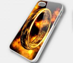THE RING 1 - iPhone 4 Case, iPhone 4s Case and iPhone 5 case Hard Plastic Case SWX