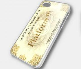 HARRY POTTER TICKET PLATFROM - iPhone 4 Case, iPhone 4s Case and iPhone 5 case Hard Plastic Case SWX