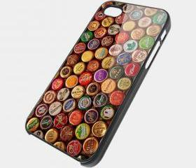 BOTTLE CAPS - iPhone 4 Case, iPhone 4s Case and iPhone 5 case Hard Plastic Case SWX