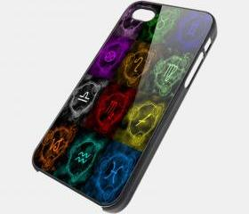 ZODIAC - iPhone 4 Case, iPhone 4s Case and iPhone 5 case Hard Plastic Case SWX