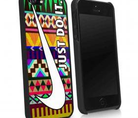 NIKE AZTEC GEOMETRI RAINBOW - iPhone 4 Case, iPhone 4s Case and iPhone 5 case Hard Plastic Case KK