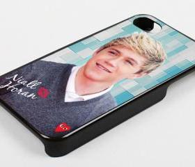 NIALL HORAN ONE DIRECTION GREY SWEATER - iPhone 4 Case, iPhone 4s Case and iPhone 5 case Hard Plastic Case KK